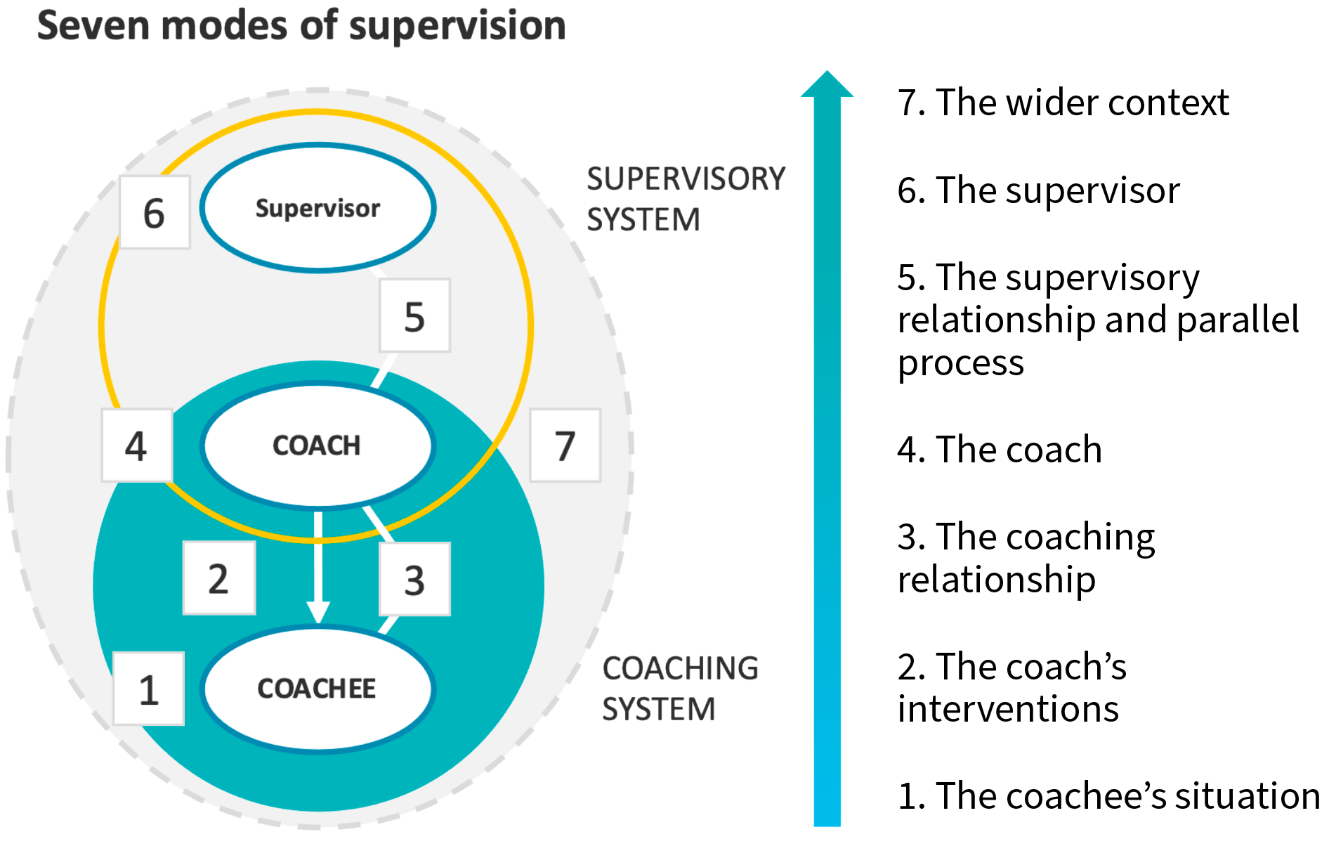Humanistics - Supervision method Diagram